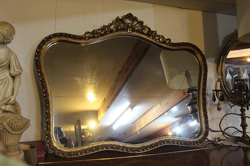 A Lovely Classical Vintage Gilt Framed Wall Mirror 96 x 75 cm