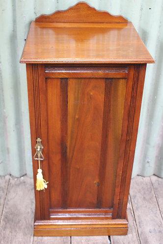 An Edwardian Blackwood Side Cabinet C.1900 - Bedside - Pot Cupboard