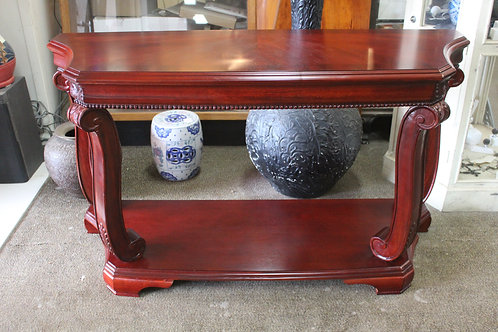 A Classical Two Tier Console Table - Hall Table