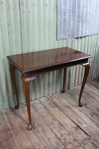 A Vintage Timber Side Table by Lucini of Fitzroy - Hall Table
