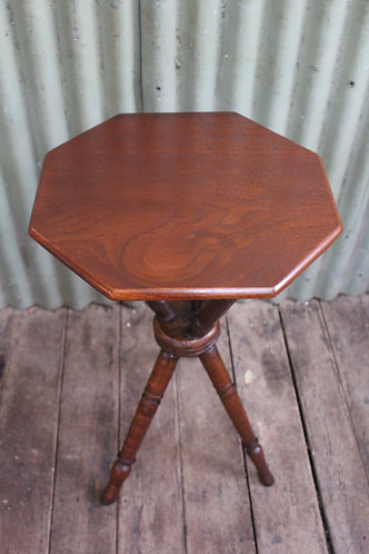 An Antique Gypsy Table with Cedar Top
