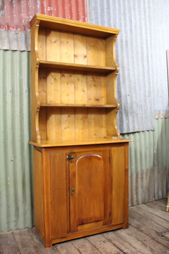 A Victorian Country Cottage Kitchen Hutch - Sideboard - Cabinet
