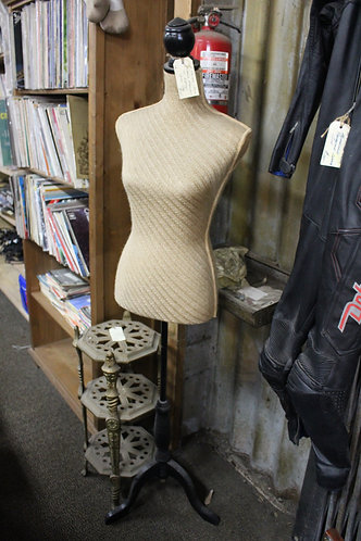 A Ladies Torso Display Mannequin on Stand 167cm high