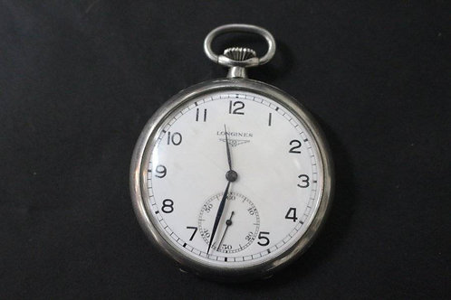 An Antique Longines Pocket Watch - Fob Watch