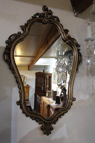 A Vintage Decorative Gilt Framed Wall Mirror - 52 x 80 cm