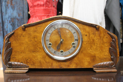 Art Deco Mantle Clock with Westminster Chimes - Serviced with 12 Month Warranty*