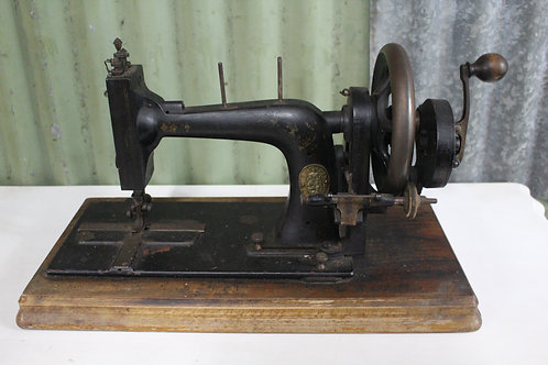 An Antique Wertheim Francfort Hand Crank Sewing Machine