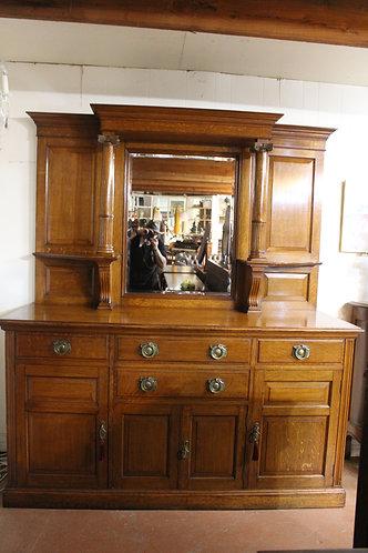 Large Antique Silky Oak Sideboard Dresser by Ashton,Leach & Cumberbirch England