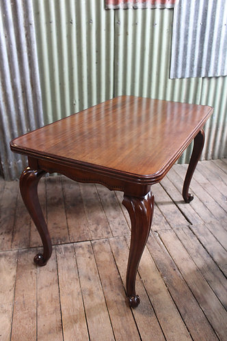 A Vintage French Mahogany Table
