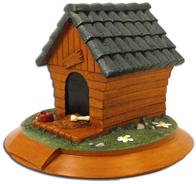 Kelco Dog House Urn
