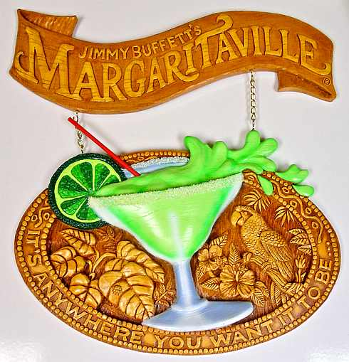 Margaritaville Wall Display