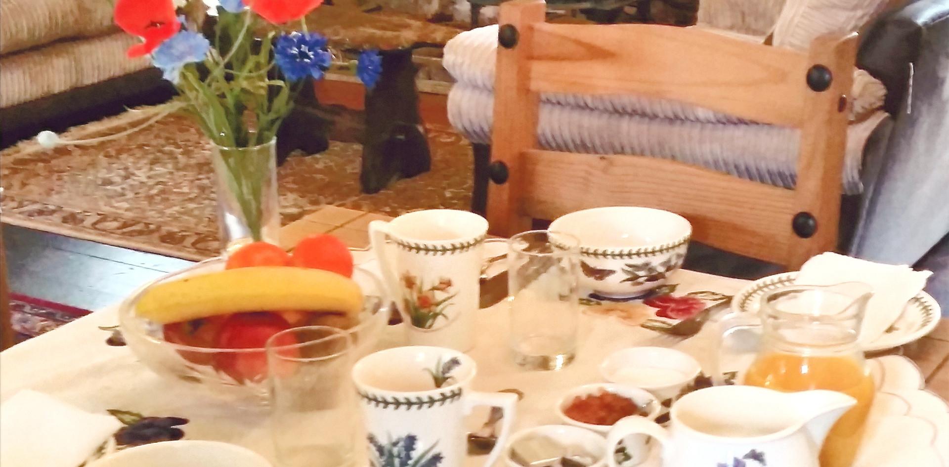 Exmoor Farmhouse Breakfast