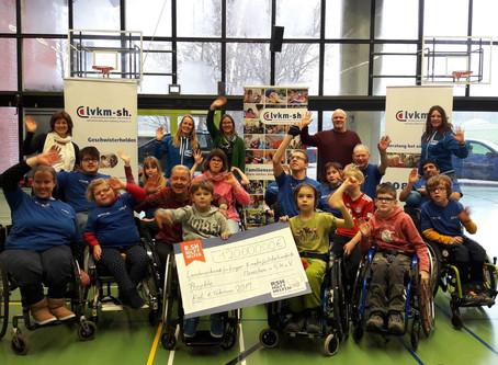 120.000 Euro für körper- und mehrfachbehinderte Menschen
