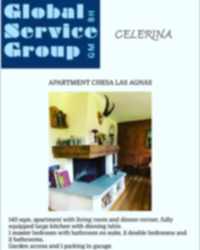 Apartment for rent in Celerina._Visit ou