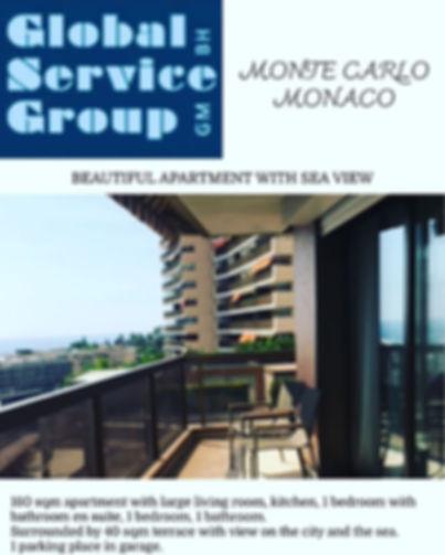 Exclusive apartment in Monaco. Contact u