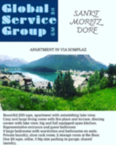 For sale in Sankt Moritz!_Our homes are