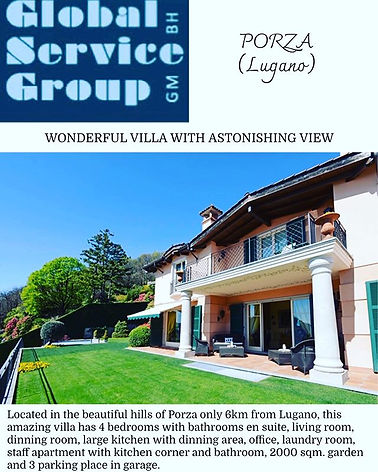 Villa with astonishing view in Lugano..j