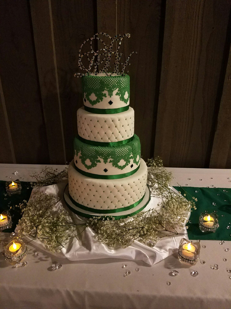 Intricate wedding cakes