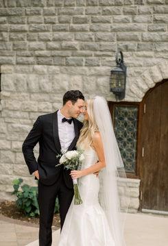 Brown Wedding - Amy Simkus Photography