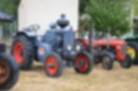 Fête des moissons : un tracteur