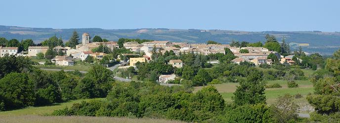 Revest du Bion : le village