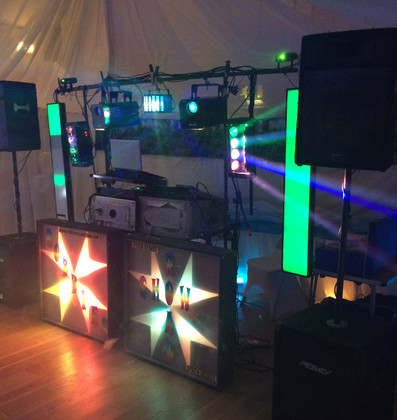 Retro Wedding Disco