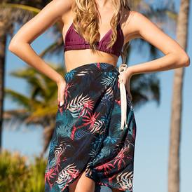 Baja Wrap Skirt Cover Up
