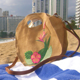 Round Beach Bag