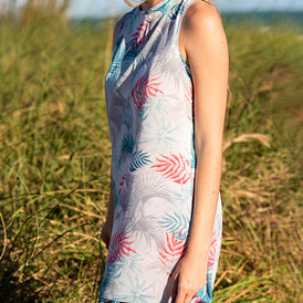 Perla Beach Sleevless Cover Up