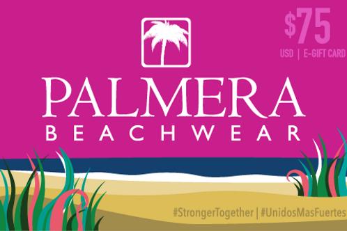 Palmera Beachwear $75 USD Digital Gift Card