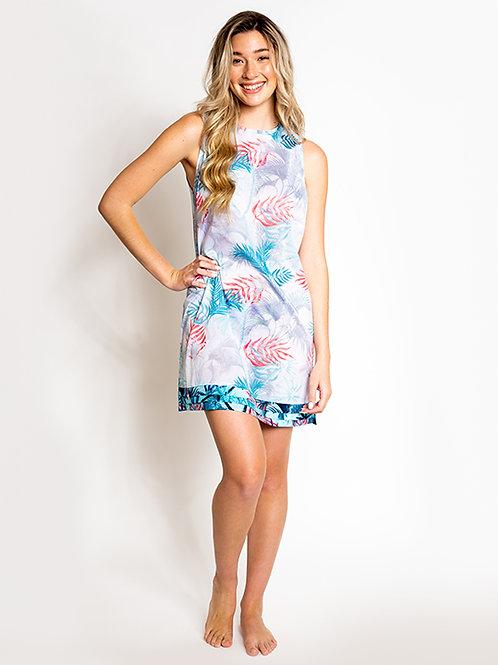Perla Beach Sleeveless Cover Up Dress