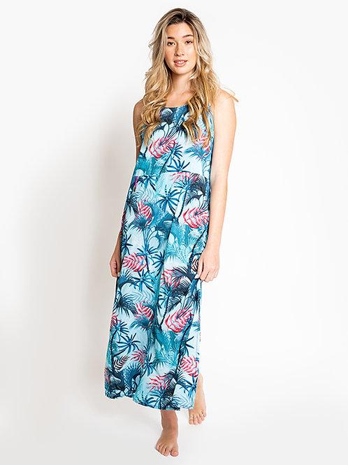 Playa Azul Slip Dress