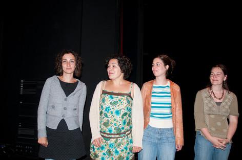 La troupe gagnante a la folie pas du tout sélection FESTHEA 2010