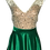 Thumbnail: Green and Nude Prom Dress