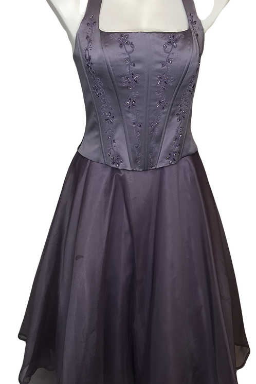 Michaelangelo Lavender Vintage Dress