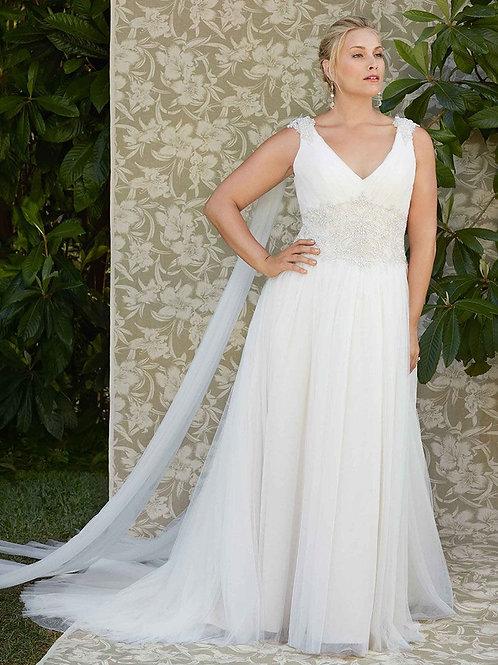 Casablanca Bridal Dahlia Gown