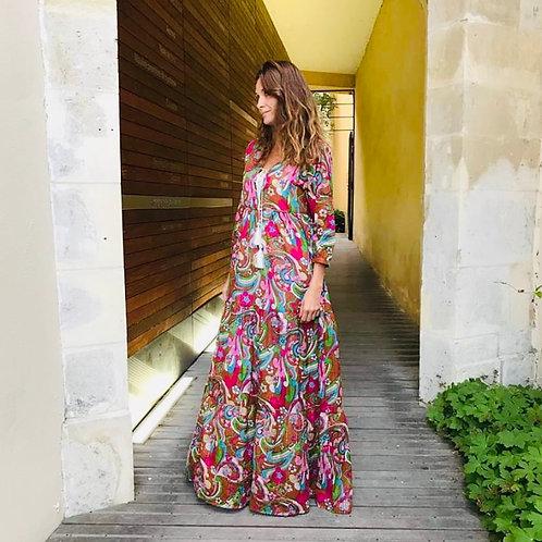 "Indian Dress ""CHICOSOLEIL"""