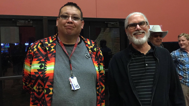 Michael Eugene Ridge Bear and Dr. William Diehl