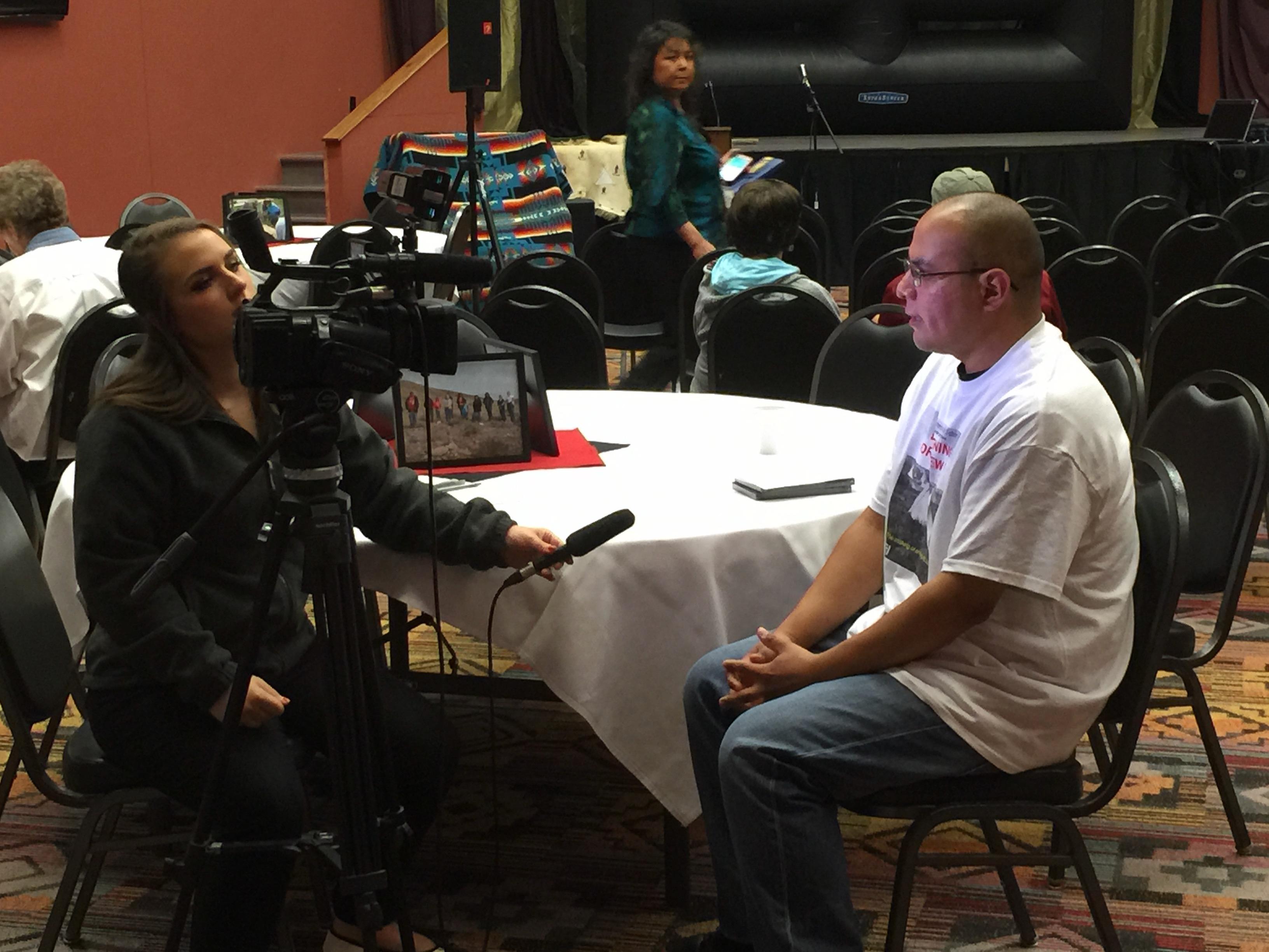 Ryan Tyler interviewed
