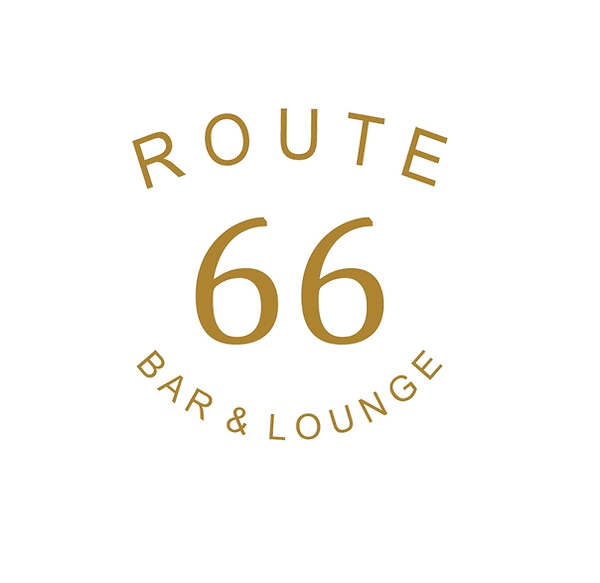 Route 66 Bar and Lounge Logo - Transpare