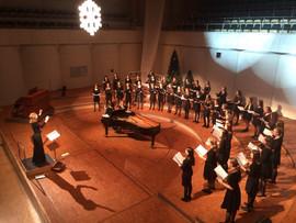 mit dem Jugendmädchenchor der Chorakademie Dortmund
