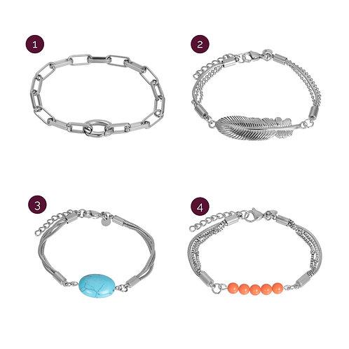 iXXXi armbanden | zilver