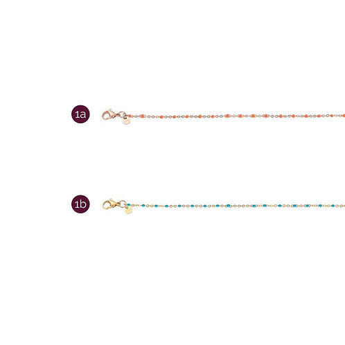 iXXXi collier - rose & goud