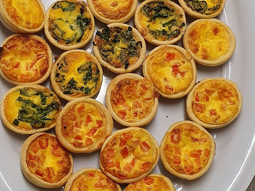Party Quiches (12)