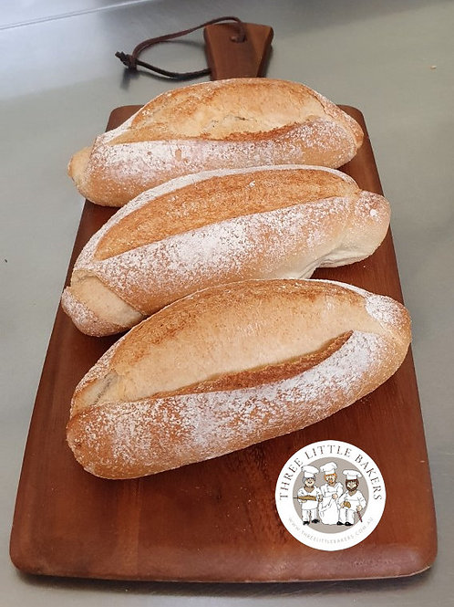 French Short Baguette (6 Pack)