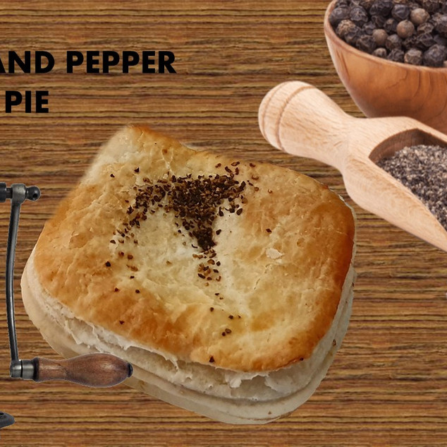 steak and pepper pie
