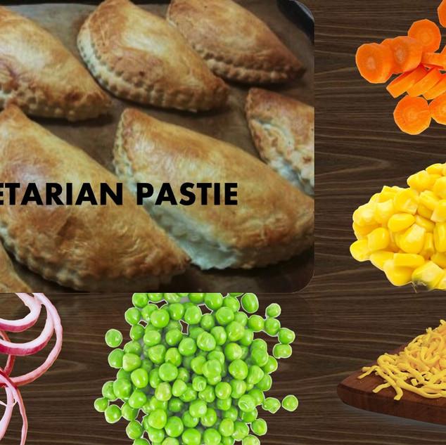 vegetarian pastie