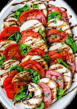 tomato mozzarella salad for catering