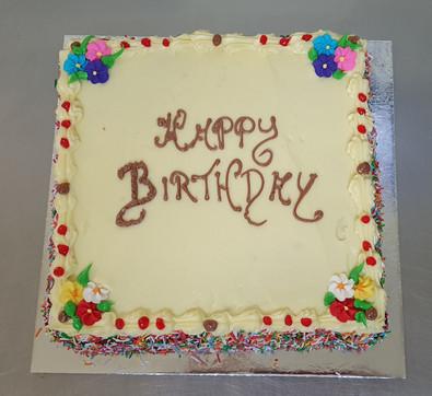 "9"" birthday cake"