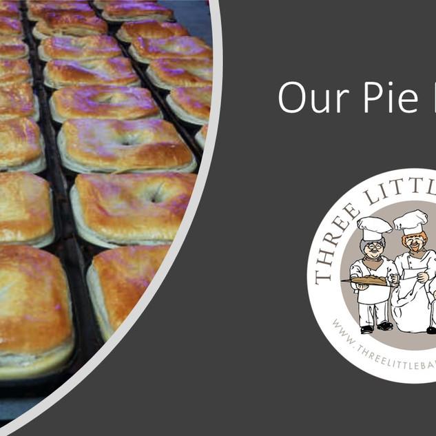 our pie range